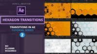 Hexagon Transitions , After Effects tutorials