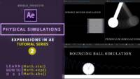 Physical Simulations ,AE Expressions , After Effects Expressions