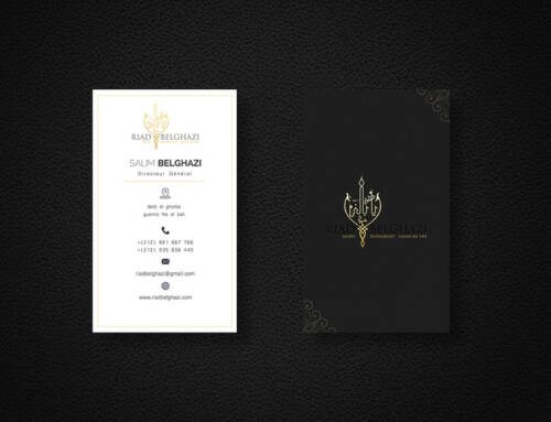 Stylized Business Card Design
