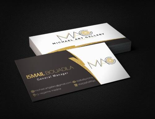 Business Card With logo Design