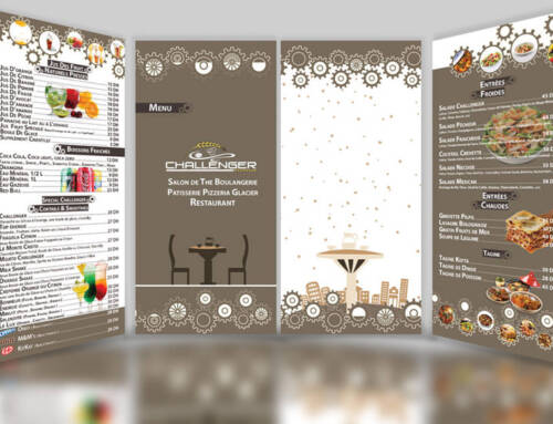 Elegant Restaurant Menu Design
