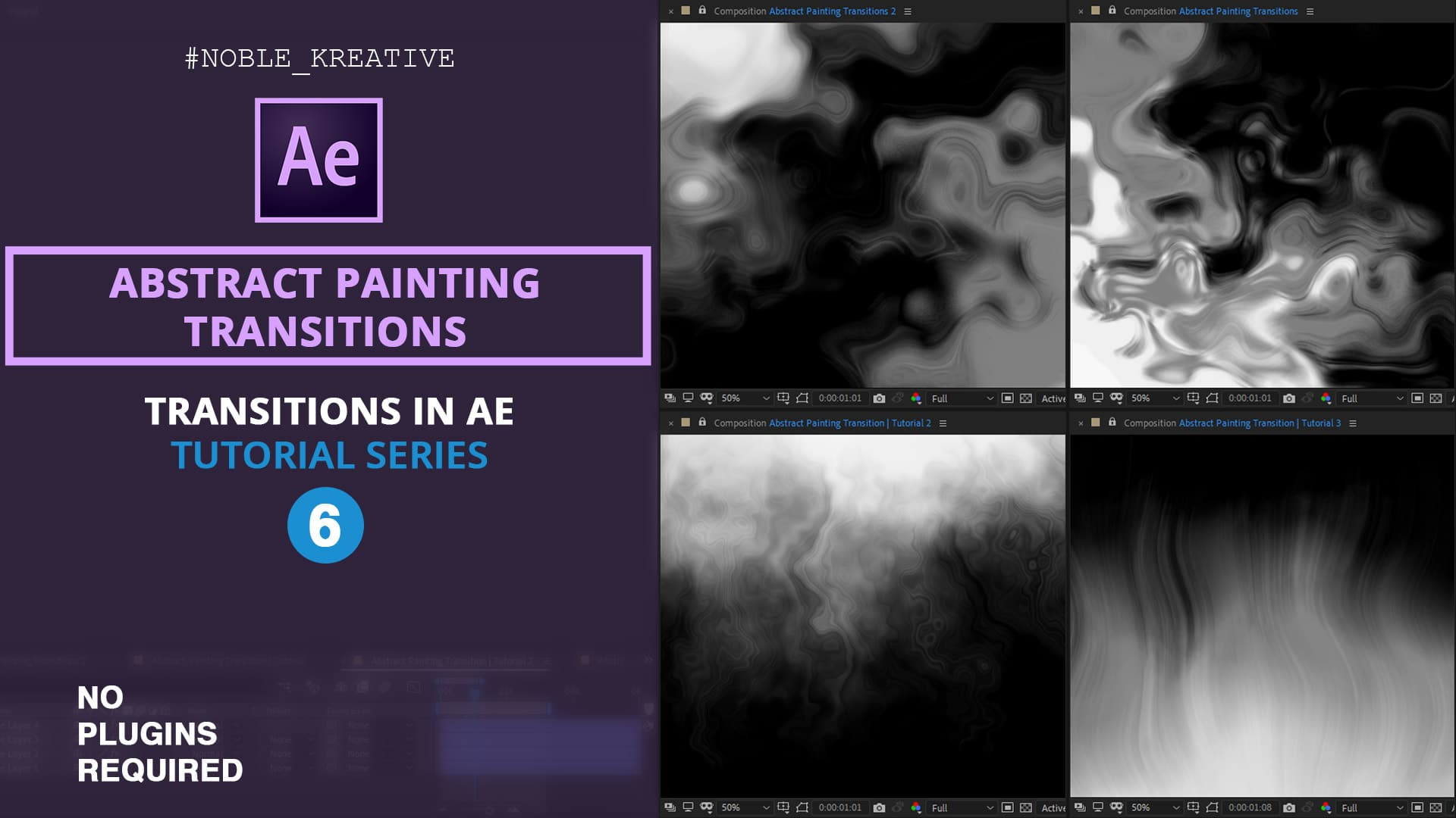 Abstract Painting Transitions , After Effects , Transitions in After Effects , After Effects Transitions , Transitions FX , After Effects Tutorials . Motion Graphics , Motion Graphics Tutorials