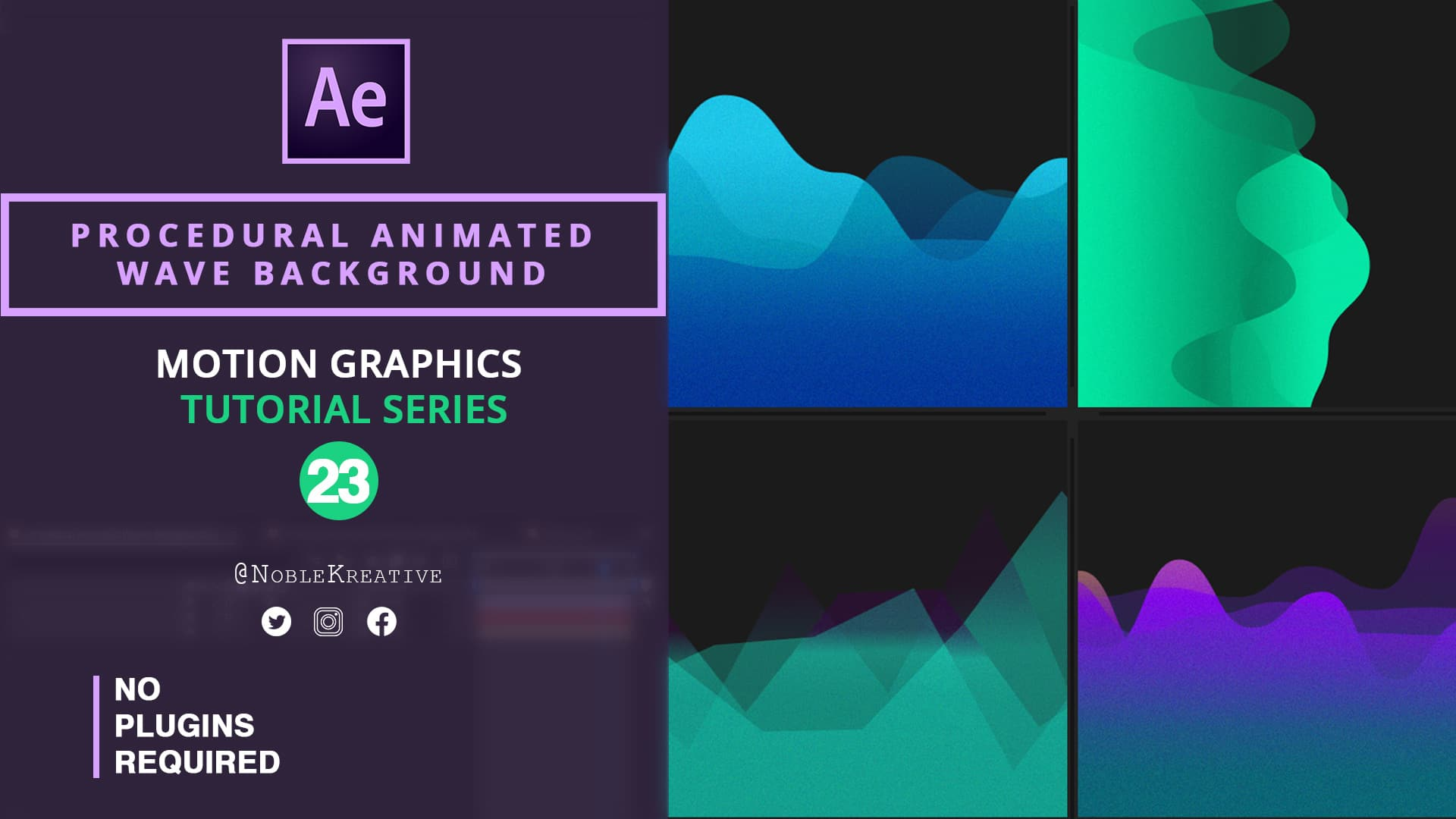 Animated Wave Background , after effects , animated background , wave effect , wave fx , motion graphics , motion graphics tutorials , after effects tutorials