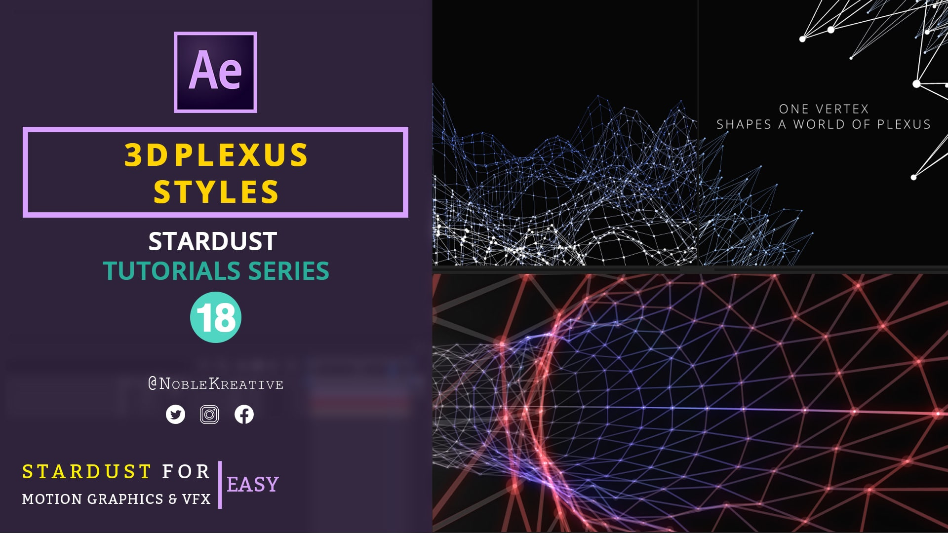 3D Plexus Styles , motion graphics tutorials , after effects tutorials , Plexus Styles , 3D Plexus Styles Effects