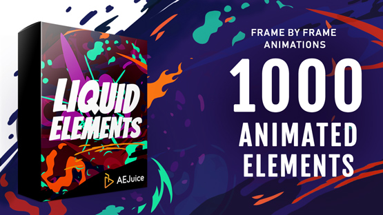 Liquid Elements ,After Effects liquid animation ,Premiere Pro liquid titles