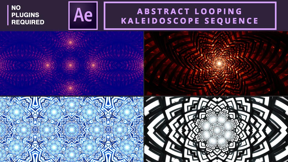 Looping Kaleidoscope Sequence , Abstract Looping Kaleidoscope Sequence ,Abstract Kaleidoscope , Kaleidoscope Visuals , After Effects Tutorials , Motion Graphics Tutorials