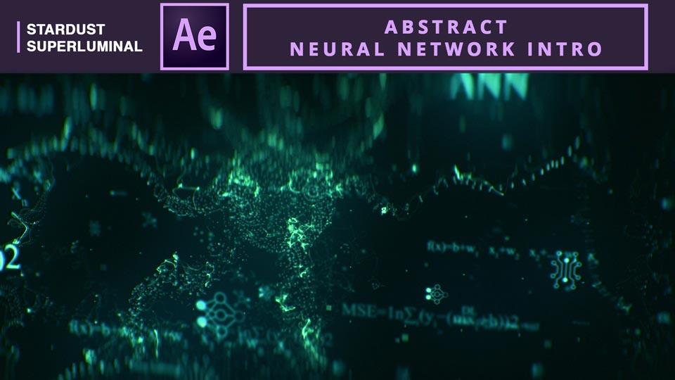 Abstract Neural Network intro , Neural Network. Abstract Neural , after effects tutorials , motion graphics tutorials , stardust tutorials , Artificial neural network